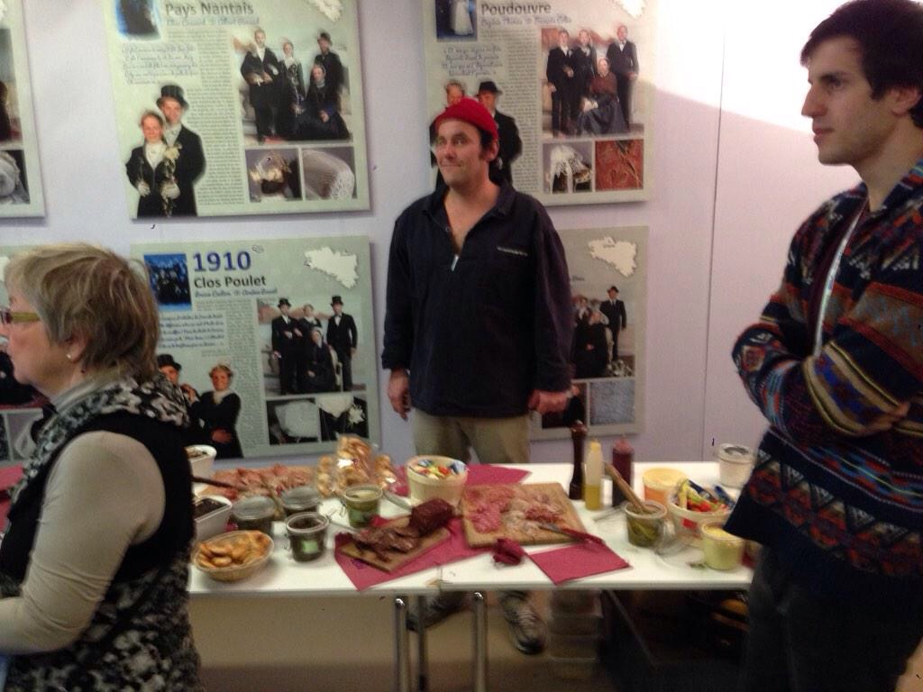 French buffet at International Networking Event in Paris