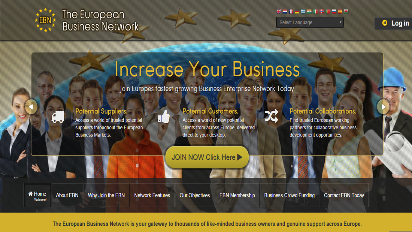 Euopean Business Networking online
