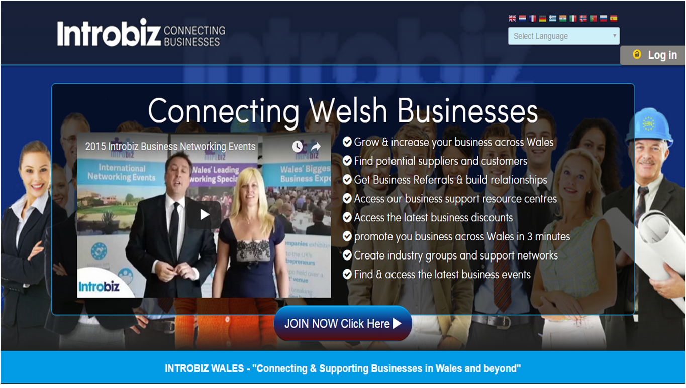 Introbiz Online Networking Platform