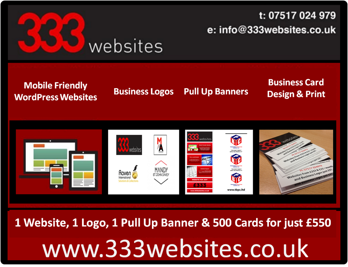 New Business Startup Package from 333 Websites