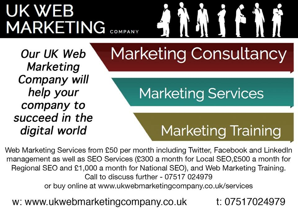 UK Web Marketing Company