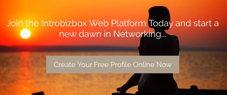 Set up your free Profile on Introbizbox