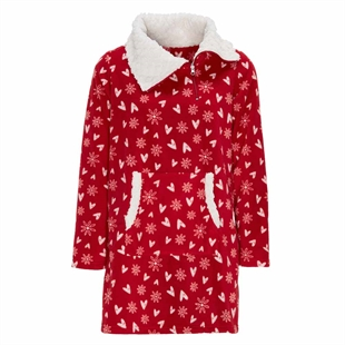 Cosy Funnel Neck Dress