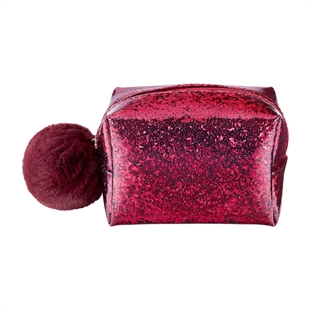 Midnight Luxe Sparkle Cosmetics Bag