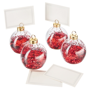 Winter's Tale Bauble Name Holders